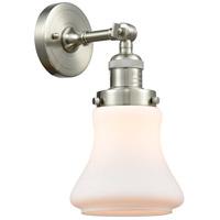 Innovations Lighting 203-SN-G191 Bellmont 1 Light 7 inch Satin Nickel Sconce Wall Light Franklin Restoration