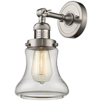 Innovations Lighting 203-SN-G192-LED Bellmont LED 7 inch Brushed Satin Nickel Sconce Wall Light