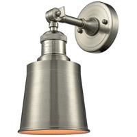 Innovations Lighting 203-SN-M9-SN Addison 1 Light 5 inch Brushed Satin Nickel Sconce Wall Light