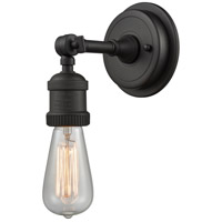 Innovations Lighting 203BP-NH-OB Bare Bulb 1 Light 5 inch Oil Rubbed Bronze Sconce Wall Light Franklin Restoration