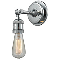 Innovations Lighting 203BP-NH-PC Bare Bulb 1 Light 5 inch Polished Chrome Sconce Wall Light Franklin Restoration