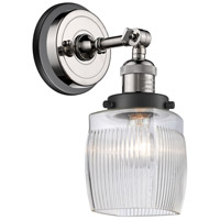 Innovations Lighting 203BP-PNBK-G302 Colton 1 Light 6 inch Polished Nickel Sconce Wall Light
