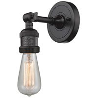 Innovations Lighting 203NH-OB-LED Bare Bulb LED 5 inch Oil Rubbed Bronze Sconce Wall Light Franklin Restoration