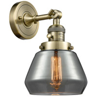 Fulton LED 7 inch Antique Brass Wall Sconce Wall Light