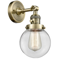 Beacon LED 6 inch Antique Brass Wall Sconce Wall Light