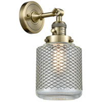 Stanton LED 6 inch Antique Brass Wall Sconce Wall Light