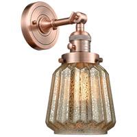 Chatham LED 6 inch Antique Copper Wall Sconce Wall Light