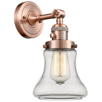 Innovations Lighting 203SW-AC-G192-LED Bellmont LED 7 inch Antique Copper Wall Sconce Wall Light