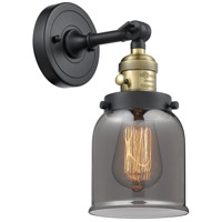 Small Bell 1 Light 5 inch Black Antique Brass Wall Sconce Wall Light