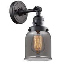 Small Bell LED 5 inch Matte Black Wall Sconce Wall Light