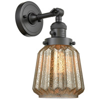 Chatham 1 Light 6 inch Oil Rubbed Bronze Wall Sconce Wall Light