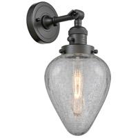 Innovations Lighting 203SW-OB-G165-LED Geneseo LED 7 inch Oil Rubbed Bronze Sconce Wall Light Franklin Restoration
