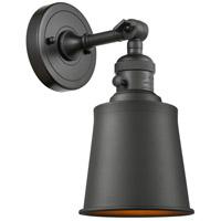 Innovations Lighting 203SW-OB-M9-OB Addison 1 Light 5 inch Oil Rubbed Bronze Sconce Wall Light Franklin Restoration