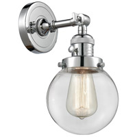 Innovations Lighting 203SW-PC-G202-6-LED Beacon LED 6 inch Polished Chrome Wall Sconce Wall Light