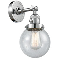 Innovations Lighting 203SW-PC-G204-6-LED Beacon LED 6 inch Polished Chrome Wall Sconce Wall Light