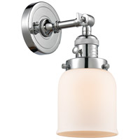 Innovations Lighting 203SW-PC-G51-LED Small Bell LED 5 inch Polished Chrome Wall Sconce Wall Light