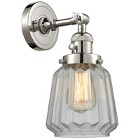 Chatham 1 Light 6 inch Polished Nickel Wall Sconce Wall Light