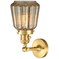 Innovations Lighting 203SW-SG-G146 Chatham 1 Light 6 inch Satin Gold Sconce Wall Light, Franklin Restoration alternative photo thumbnail
