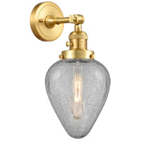 Innovations Lighting 203SW-SG-G165 Geneseo 1 Light 7 inch Satin Gold Sconce Wall Light Franklin Restoration