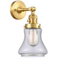 Innovations Lighting 203SW-SG-G194 Bellmont 1 Light 7 inch Satin Gold Sconce Wall Light