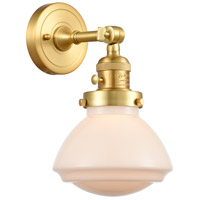 Innovations Lighting 203SW-SG-G321 Olean 1 Light 7 inch Satin Gold Sconce Wall Light