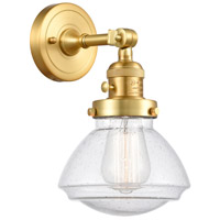Innovations Lighting 203SW-SG-G324 Olean 1 Light 7 inch Satin Gold Sconce Wall Light