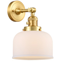 Innovations Lighting 203SW-SG-G71 Large Bell 1 Light 8 inch Satin Gold Sconce Wall Light