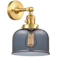 Innovations Lighting 203SW-SG-G73 Large Bell 1 Light 8 inch Satin Gold Sconce Wall Light
