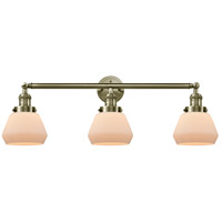 Innovations Lighting 205-AB-G171-LED Fulton LED 30 inch Antique Brass Bath Vanity Light Wall Light Franklin Restoration