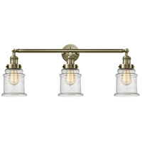 Innovations Lighting 205-AB-G184 Canton 3 Light 30 inch Antique Brass Bath Vanity Light Wall Light Franklin Restoration