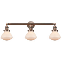 Glass Olean Bathroom Vanity Lights