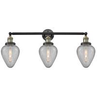 Innovations Lighting 205-BAB-S-G165-LED Geneseo LED 32 inch Black Antique Brass Bath Vanity Light Wall Light Franklin Restoration