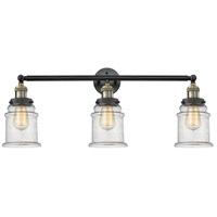 Innovations Lighting 205-BAB-S-G184-LED Canton LED 30 inch Black Antique Brass Bathroom Fixture Wall Light Adjustable