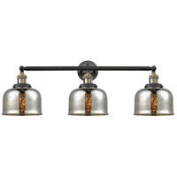 Innovations Lighting 205-BAB-S-G78-LED Large Bell LED 32 inch Black Antique Brass Bathroom Fixture Wall Light Adjustable