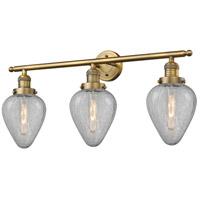 Innovations Lighting 205-BB-G165-LED Geneseo LED 32 inch Brushed Brass Bath Vanity Light Wall Light Franklin Restoration