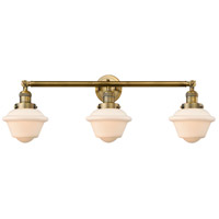 Brushed Brass Small Oxford Wall Sconces