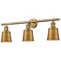 Innovations Lighting 205-BB-M9-BB-LED Addison LED 32 inch Brushed Brass Bathroom Fixture Wall Light
