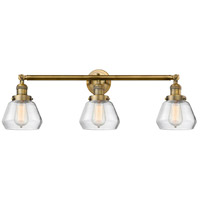 Innovations Lighting 205-BB-S-G172-LED Fulton LED 30 inch Brushed Brass Bathroom Fixture Wall Light Adjustable