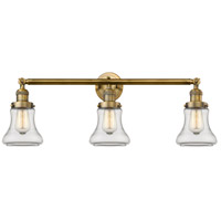 Innovations Lighting 205-BB-S-G192-LED Bellmont LED 30 inch Brushed Brass Bathroom Fixture Wall Light Adjustable