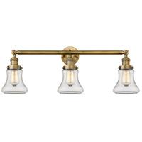 Innovations Lighting 205-BB-S-G192 Bellmont 3 Light 30 inch Brushed Brass Bathroom Fixture Wall Light Adjustable