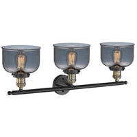 Innovations Lighting 205-BBB-G73 Signature 3 Light 32 inch Black and Brushed Brass Vanity Light Wall Light, Large, Bell alternative photo thumbnail