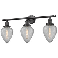 Innovations Lighting 205-OB-G165-LED Geneseo LED 32 inch Oil Rubbed Bronze Bath Vanity Light Wall Light Franklin Restoration
