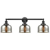 Innovations Lighting 205-OB-G78-LED Large Bell LED 32 inch Oil Rubbed Bronze Bath Vanity Light Wall Light Franklin Restoration