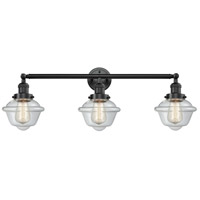 Innovations Lighting 205-OB-S-G532 Small Oxford 3 Light 34 inch Oil Rubbed Bronze Bathroom Fixture Wall Light Adjustable