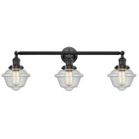 Innovations Lighting 205-OB-S-G534-LED Small Oxford LED 34 inch Oil Rubbed Bronze Bathroom Fixture Wall Light Adjustable