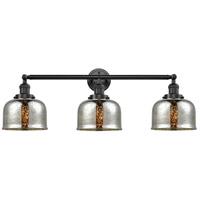 Innovations Lighting 205-OB-S-G78-LED Large Bell LED 32 inch Oil Rubbed Bronze Bath Vanity Light Wall Light Franklin Restoration