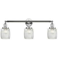 Innovations Lighting 205-PC-G302-LED Colton LED 32 inch Polished Chrome Bath Vanity Light Wall Light, Franklin Restoration