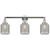 Innovations Lighting 205-PC-S-G262 Stanton 3 Light 32 inch Polished Chrome Bath Vanity Light Wall Light Franklin Restoration