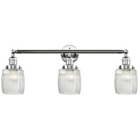 Innovations Lighting 205-PC-S-G302 Colton 3 Light 32 inch Polished Chrome Bathroom Fixture Wall Light Adjustable