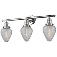 Innovations Lighting 205-PN-G165-LED Geneseo LED 32 inch Polished Nickel Bath Vanity Light Wall Light Franklin Restoration